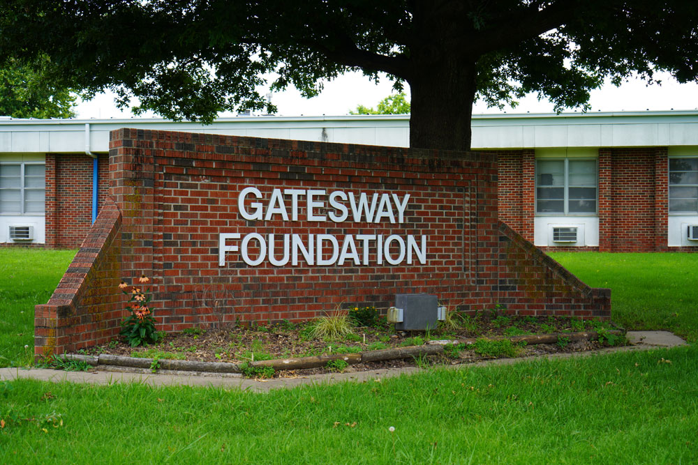 Brick Sign for Gatesway Foundation